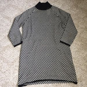 Zara sweater dress